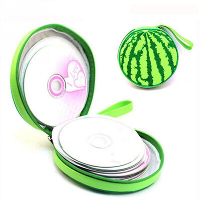 Watermelon Style 24pcs Disk Capacity DVD CD Holder Storage Case For CD Bags B