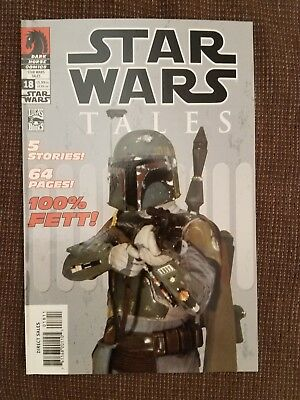 Star Wars Tales #18 (2003) Dark Horse comic Boba Fett photo variant  VF cond
