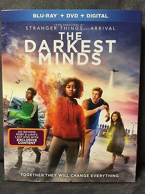The Darkest Minds (Blu-ray + DVD + Digital) Mandy Moore ! Excellent !