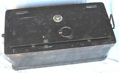 Mosler 1880's U. S. Calvary Combination Payroll Strong Box/Safe