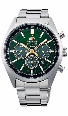 ORIENT Neo70's WV0031TX Solar Chronograph Men's Watch New in Box