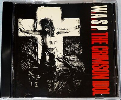 W.A.S.P. WASP The Crimson Idol 1992 Canadian 1st Press CD Free Shipping!!