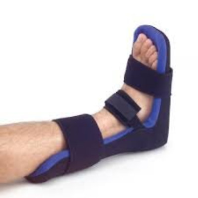 Ultra Light Adjustable Night splint dorsal with Soft washable Towelling and Foot
