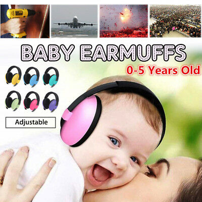 Kids Ear Muffs Hearing Protection Noise Reduction Children Ear Defenders Safety*