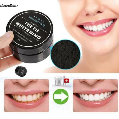 Teeth Whitening Powder Natural Coconut Shell Toothpaste Health random CLWR