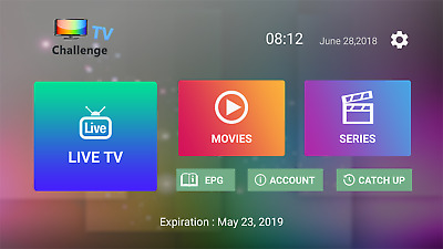NEW APK CHALLENGE TV BOX  IPTV-12Mois-HD-Full-HD-Android-KODI-ASSISTANCE-24-7/7