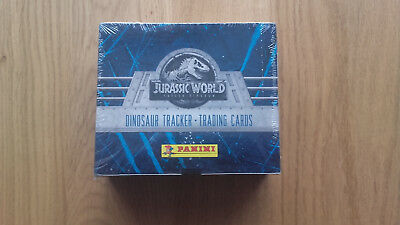 Panini jurassic world sealed box  display  packets cards fallen kingdom