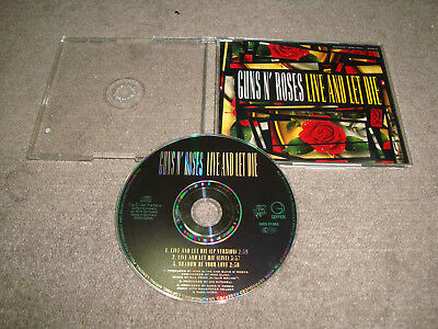 Guns N' Roses - Live And Let Die   CD  +Hard Rock+