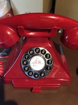 Red Telephone Good Condition