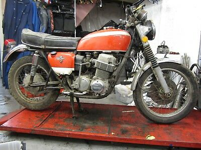 Original Honda CB 750 K1 Barn Find Project