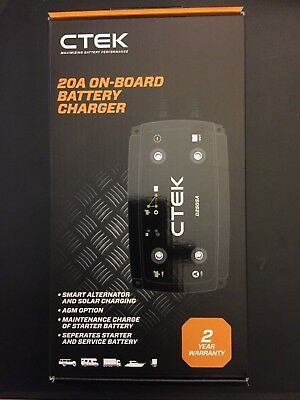 CTEK D250SA Dual DC-DC Charger + 300w Solar panel MPPT controller - unopened