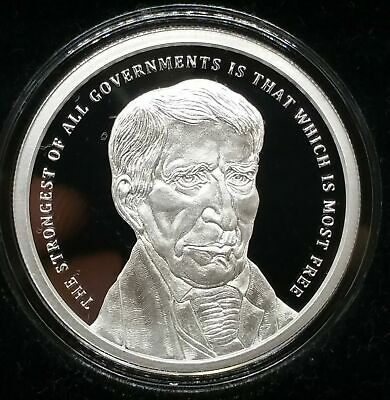 2018 1oz William Henry Harrison Proof Silver Shield Group Presidents POTUS