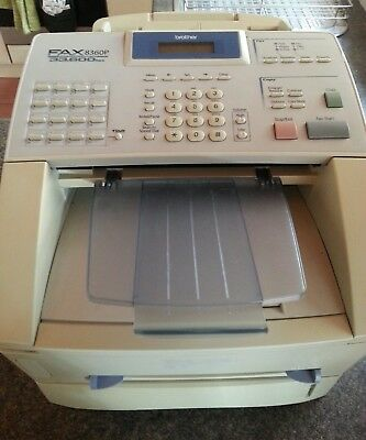 Brother 8360p Laser Fax Facsimile Laser copier high speed 33,600 bps