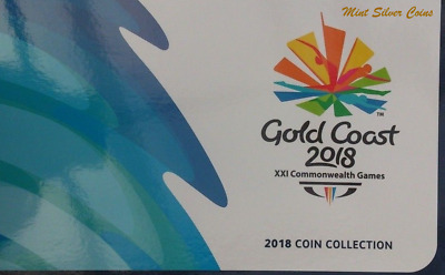 2018 Commonwealth Games Coin Set Albums ...2 x EMPTY FOLDERS ... #6