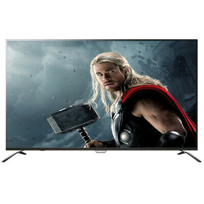 "Televisión 4K Tv 55"" Led Smart Tv Wifi Ultraslim Usb Y Hdmi Multimedia +Regalo"