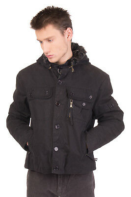 JOHN STEED 2in1 Jacket Size 46 / S Eco Fur Trim Padded Detachable Hood RRP €409