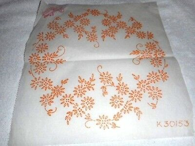 Vintage Embroidery Iron on Transfer - Deightons No. K30153 - Flowers