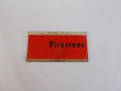 1972 firestone tires car  tire data book Europe ,German/French  language 1950-72