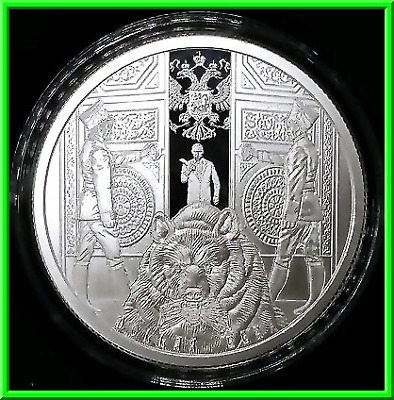 2019 1oz Dollar Bear Proof Silver Shield MiniMintage Death of the Dollar PRESALE