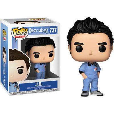 Scrubs - JD Pop! Vinyl Figure NEW Funko