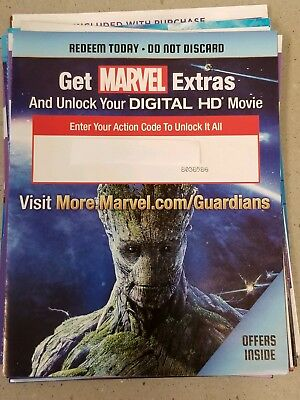 Marvel Guardians Of The Galaxy HD Digital Code ONLY