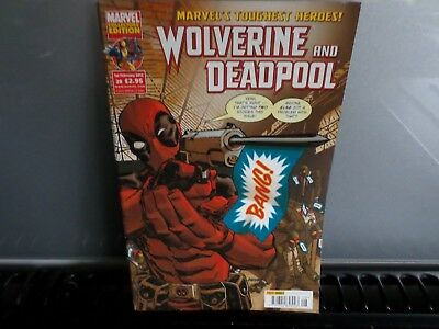 Marvel Collector's Edition Graphic Comic - Wolverine And Deadpool  No 28