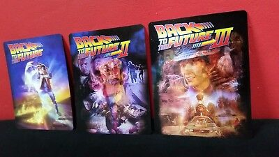 BACK TO THE FUTURE TRILOGY 1 2 3 3D Lenticular Magnet Cover for BLURAY STEELBOOK