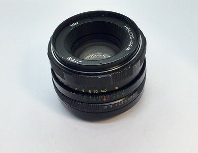 HELIOS 44m M42 S/n 8013853 58mm f/2 Lens for Zenit Made in USSR
