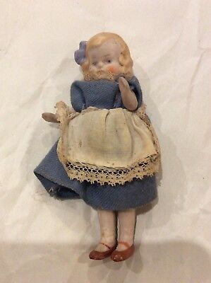Antique Bisque Dolls House Doll