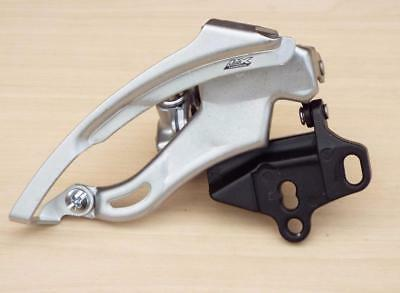 New Shimano Lx Fd-M570 3 X 9 Speed E2 E-Type Direct Mount Bottom Pull Front Mech