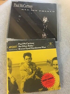Paul McCartney CD Single x2, All My Trials/No Other Baby.