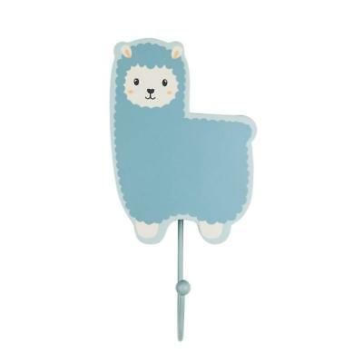 Sass & Belle Little Llama Hook - BLUE - Childrens Kids Nursery Bedroom