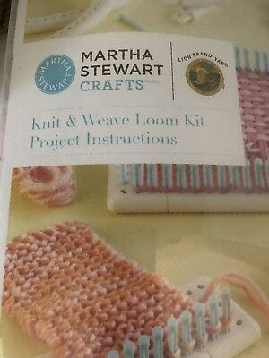 Martha Stewart crafts - knit and weave loom kit. Knitting. RRP £39