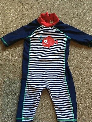 Boys all in one swim suit 12-18 months