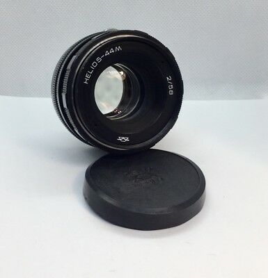 HELIOS 44m M42 S/n 8015830 58mm f/2 Lens for Zenit Made in USSR