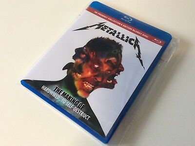 Metallica The Making Of Hardwired...to Self-Destruct Bluray