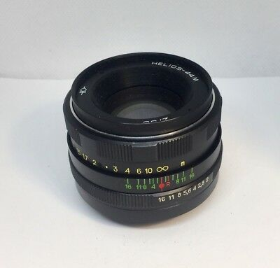 HELIOS 44m M42 S/n 82125413 58mm f/2 Lens for Zenit Made in USSR