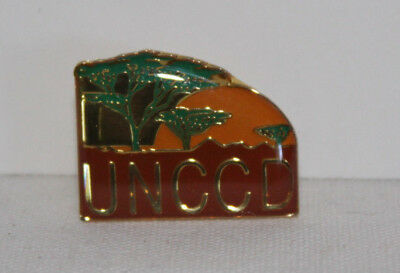 Ansteck Pin, UNCCD, Vereinte Nationen