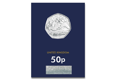THE SNOWMAN CHRISTMAS 50p FIFTY PENCE COIN 2018 BRILLIANT UNCIRCULATED CONDITION