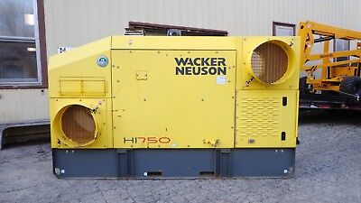 2011 Wacker HI750 Indirect Diesel Fired Construction Air Heater LOW HOURS!