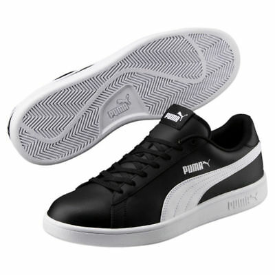 ec6bf8c9e0f7 Puma Mens Trainers Puma Smash Court Trainers Leather Shoes Black - Size UK  9-11