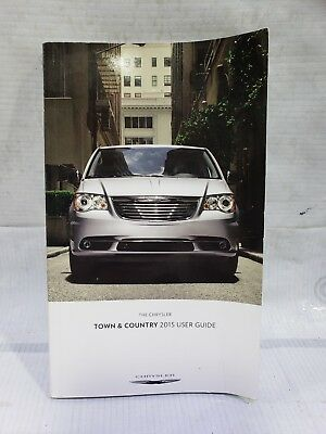 2015 Chrysler Town Country User Guide Owners Manual
