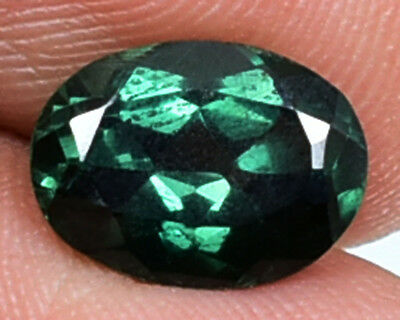 2.85 Ct Natural Rare Australian Vivid Parti Sapphire Gemstone GIE Certified