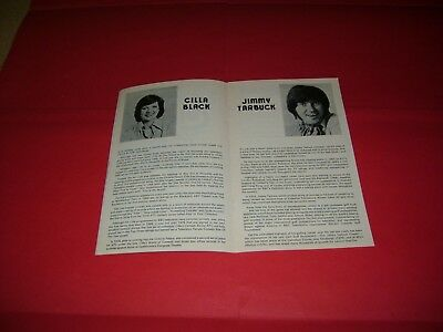 Cilla Black Jimmy Tarbuck 1977 UK Theatre Programme