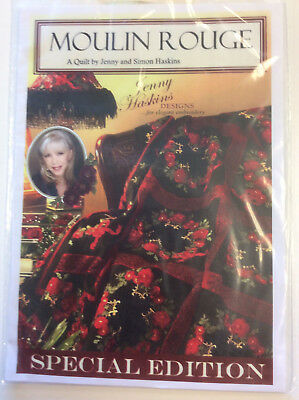 Jenny Haskins Designs Special Edition A Quilt - Moulin Rouge Collection