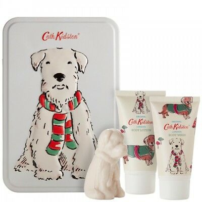 Cath Kidston STANLEY TOILETRY TIN GIFT SET for all DOG LOVERS