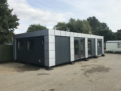 20ft x 40ft BRAND NEW 4 BAY MODULAR BUILDING SALES OFFICE SITE OFFICE MARKETING