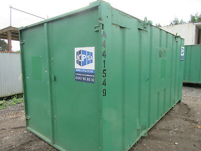 16ft x 8ft SHIPPING CONTAINER, STORAGE CONTAINER, STEEL CONTAINER, £1000 + VAT