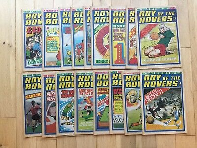 Roy of The Rovers from 1977 - 17 Comics