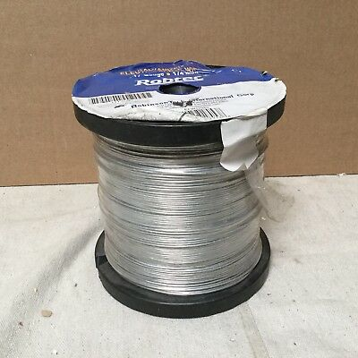 Electric Fence Wire 17 Ga,1320 Ft Steel  4LVR1